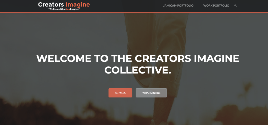 Creators Imagine Website