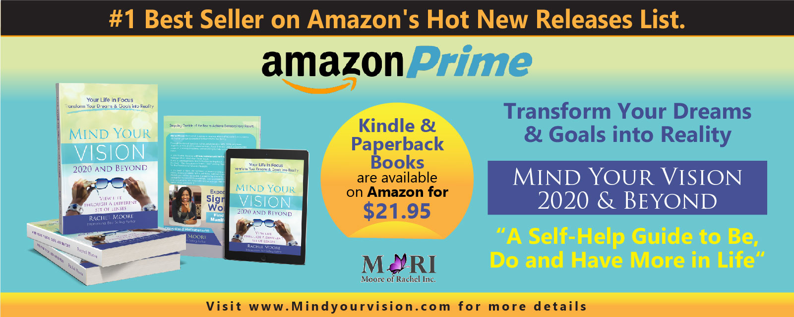 Amazon Hot New Release - Mind Your Vision - 2020 and Beyond