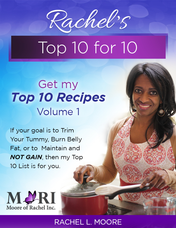 Rachel's Top 10 Low Carb Recipes Volume 1