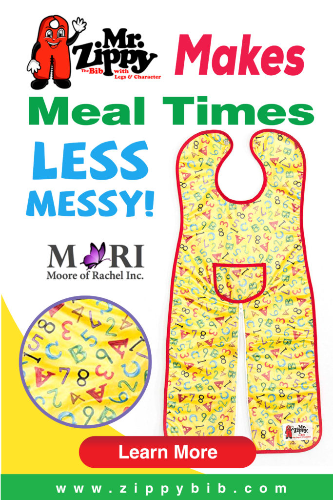 Mr. Zippy Baby Bib water proof, easy clean up, feed baby on the go, makes meal times less messy mooreofrachel mr. zippy bib Baby Gifts best baby shower gifts coverall bib the bib with legs and character
